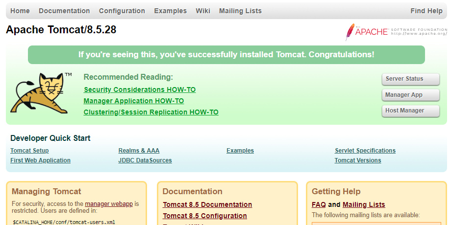 How to Install Tomcat Server On Windows 10, 8 and 7 | ExamTray