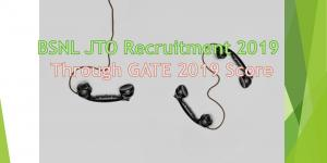 BSNL JTO 2018 Recruitment