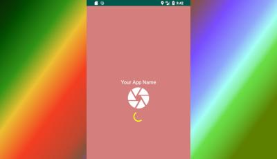 create splash screen android