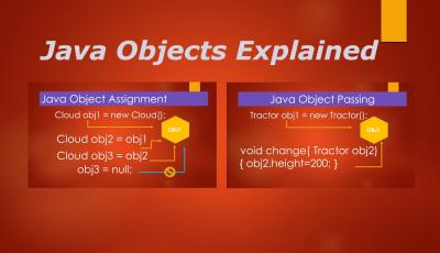 Java Object Assignment and Object Passing by Value or Reference Infographic