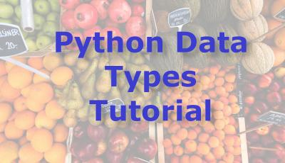 python data types tutorial