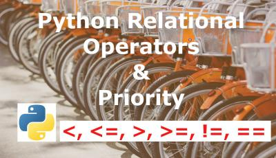 python relational operators tutorial